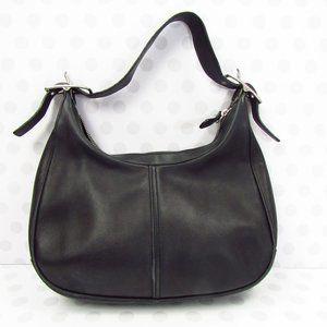 Coach Leather 9342 Zoe Hobo Bag Black
